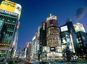 ginzatokyo_Neon Lights, Ginza, Tokyo_www.sportseventstravel.co.uk
