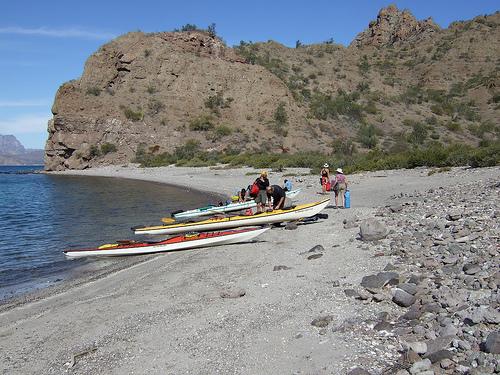El Sanctuario Eco Retreat_BC_MX_kayaking to Danzante Island_ about 2 miles from El Sanctuario_2262367924_c3ae0df314