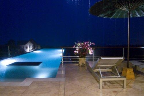 BEC-Villa Indah Manis-BALI-Pool-at-night