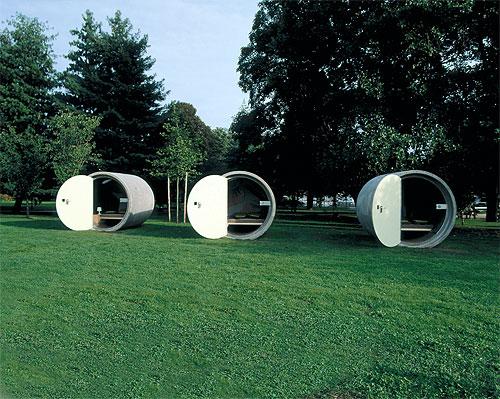 Das Park Hotel, Ottensheim, Linz, Austria. Photo: Dietmar Tollerian