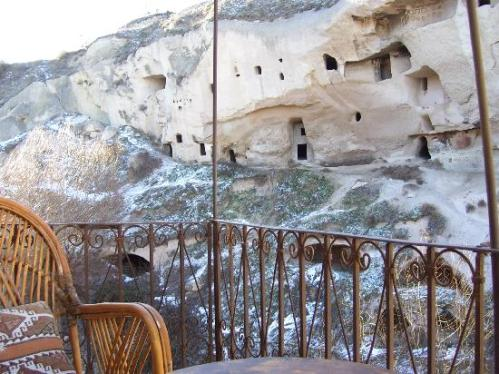 Giramisu Cave Hotel-TURKEY-view-from-the-balcony