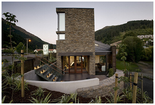Queenstown Park Boutique Hotel-Queenstown-NZ-QPH-exterior-entrance-b