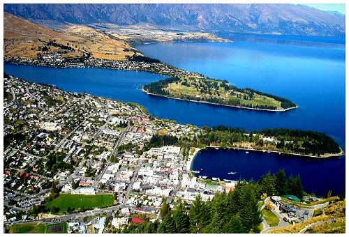 Queenstown Park Boutique Hotel-Queenstown-NZ-queenstown-aerialview-b