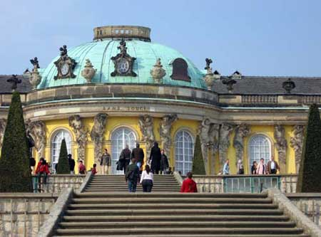 Sanssouci Palace-Potsdam-GERMANY 1