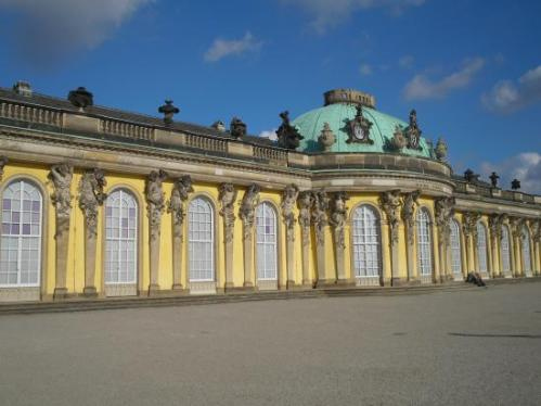 Sanssouci Palace-Potsdam-GERMANY 2