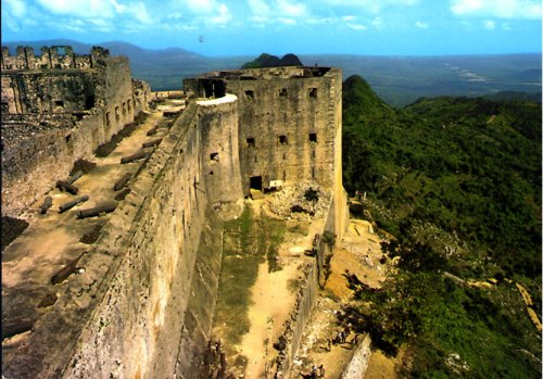 The Citadel Laferrire-HAITI-close-view-of-the-citadelle