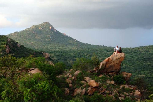 The Sanctuary of Ol Lentille_Kenya_lentille-sundowner-rock1