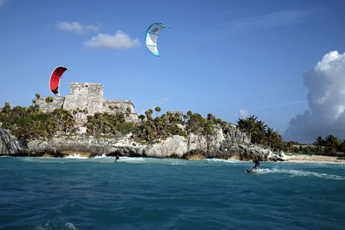 And if you want to go beyond Yoga, learn how to Kite-Surf. Photo: Extreme Control Kite Surfing School
