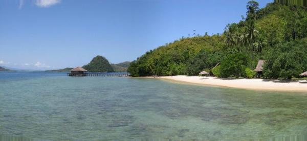 Cibudak Island. An unending choice of pristine white sandy beaches. Photo: D Nukman
