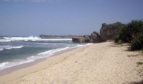 Krakal Beach, Central Java. Photo: flickr member Pax