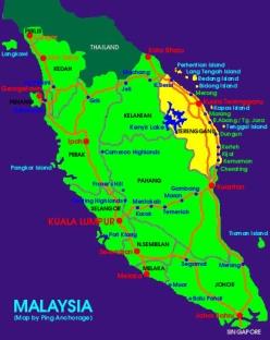 Map-Malaysia