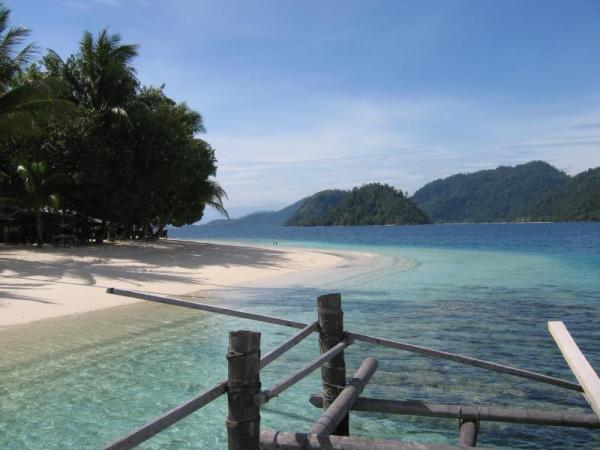 The nearby Pagang Island. Photo: D Nukman