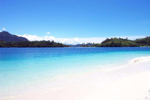 Pagang Island, Sikuai's neighboring island. West Sumatra, Indonesia