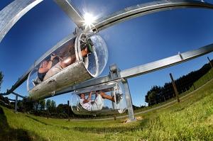 Schweeb monorail 1