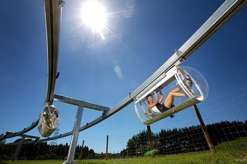 Schweeb monorail 2