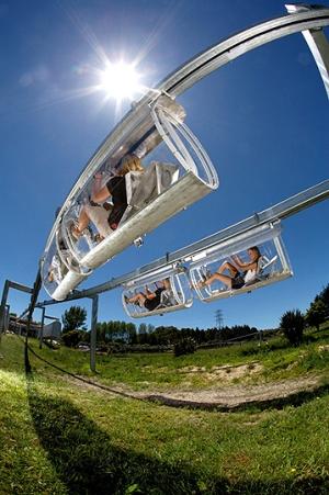 Schweeb monorail 4