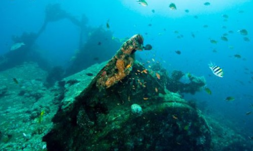 Diving the wrecks of Tulamben, East Bali