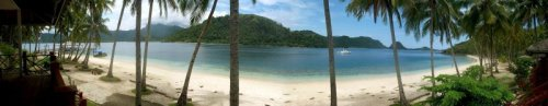 Panorama view of Sikuai Island. Photo: D Nukman