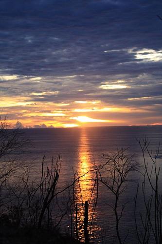 Sunset on Sikuai. Photo: Riky Kurniawan