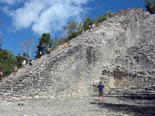 Cobá Mayan Ruins-Nohoch-photo invisibleman.com