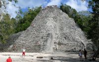 Cobá Mayan Ruins-Nohoch_Mul_photo wikipedia