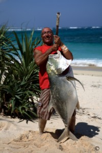 Jungle Ulua Fishing Adventures-not bad for a day's catch